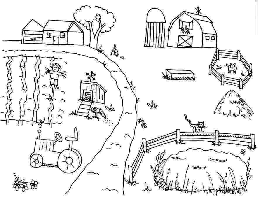 farm house coloring pages farm coloring pages for preschool coloring home house pages coloring farm