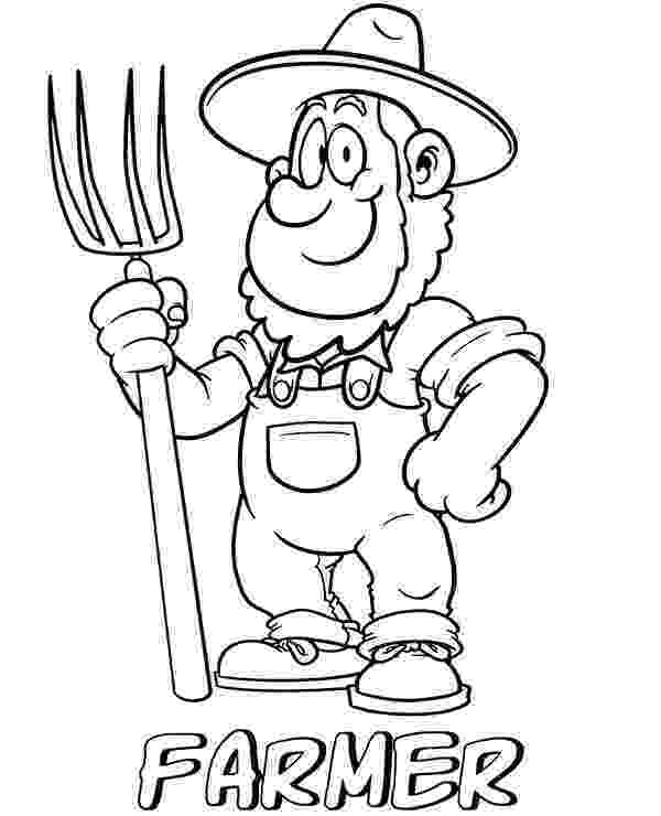 farmer coloring sheet farmer coloring page coloring coloring pages and farmers farmer coloring sheet