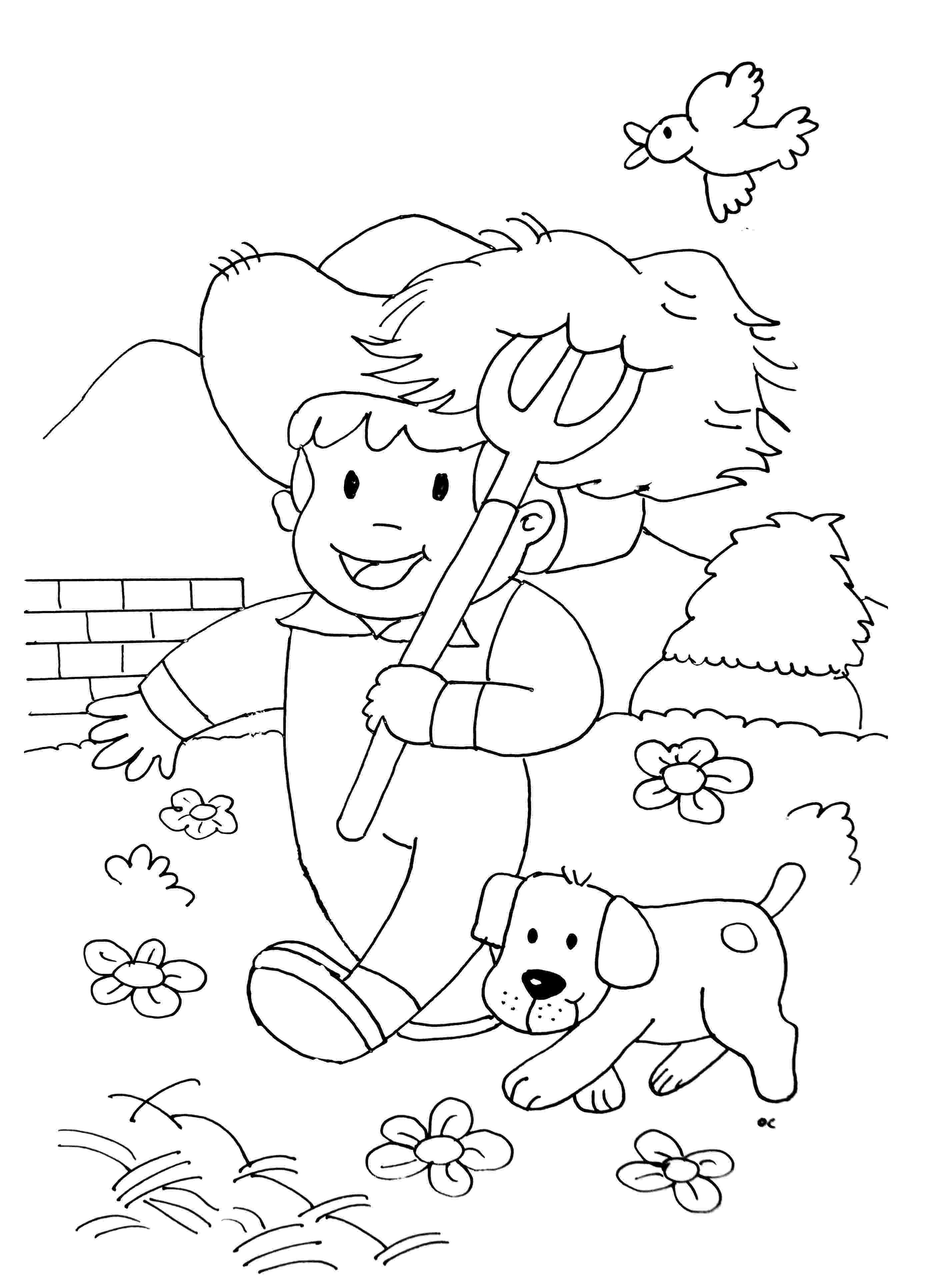 farmer coloring sheet farmer coloring pages to download and print for free farmer coloring sheet
