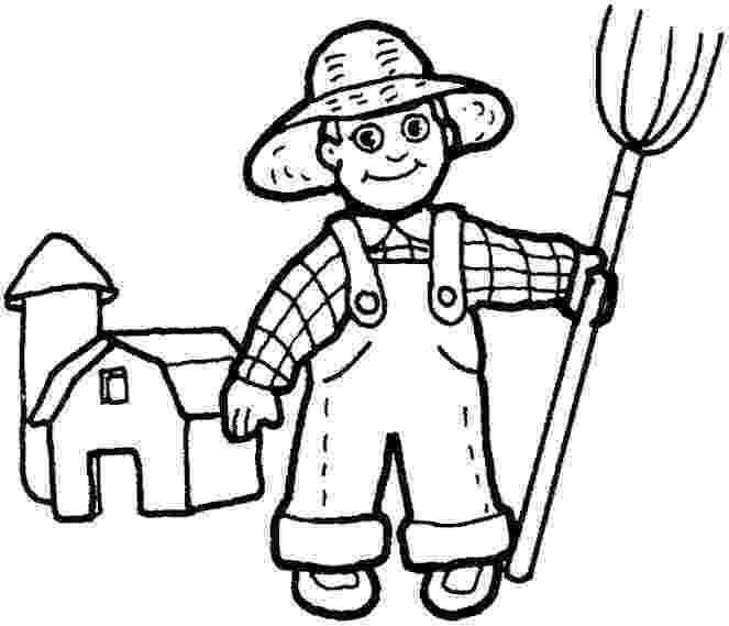 farmer coloring sheet farmer kid with his dog animals adult coloring pages sheet coloring farmer