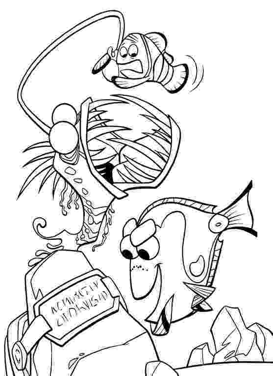 finding nemo coloring finding nemo coloring pages disneyclipscom finding nemo coloring