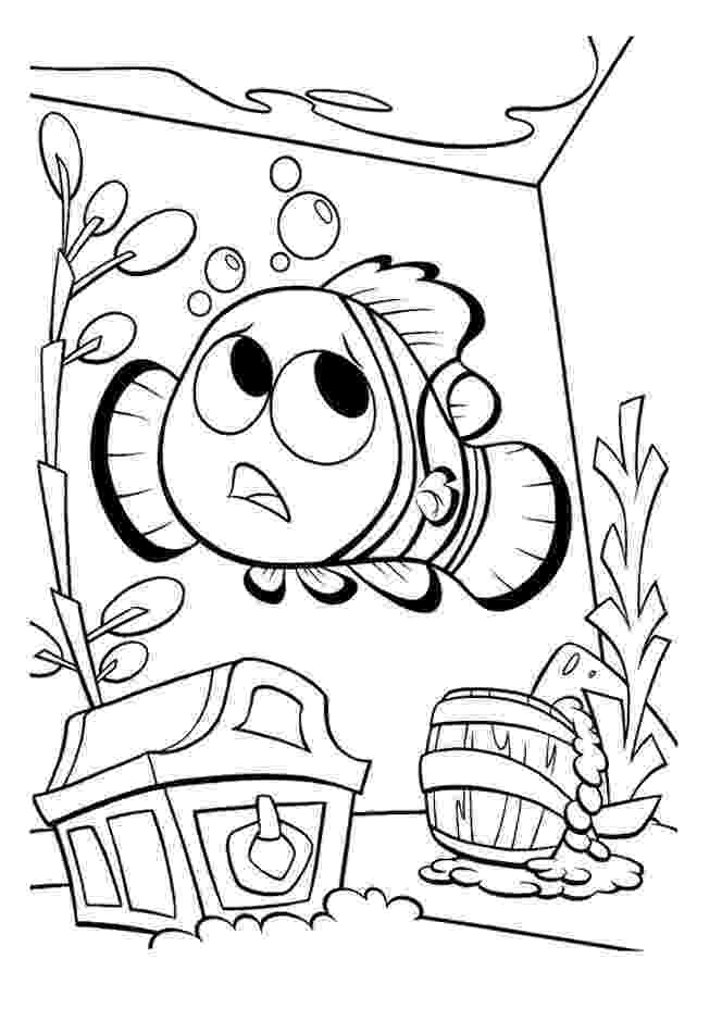 finding nemo coloring page finding nemo to print finding nemo kids coloring pages nemo page coloring finding