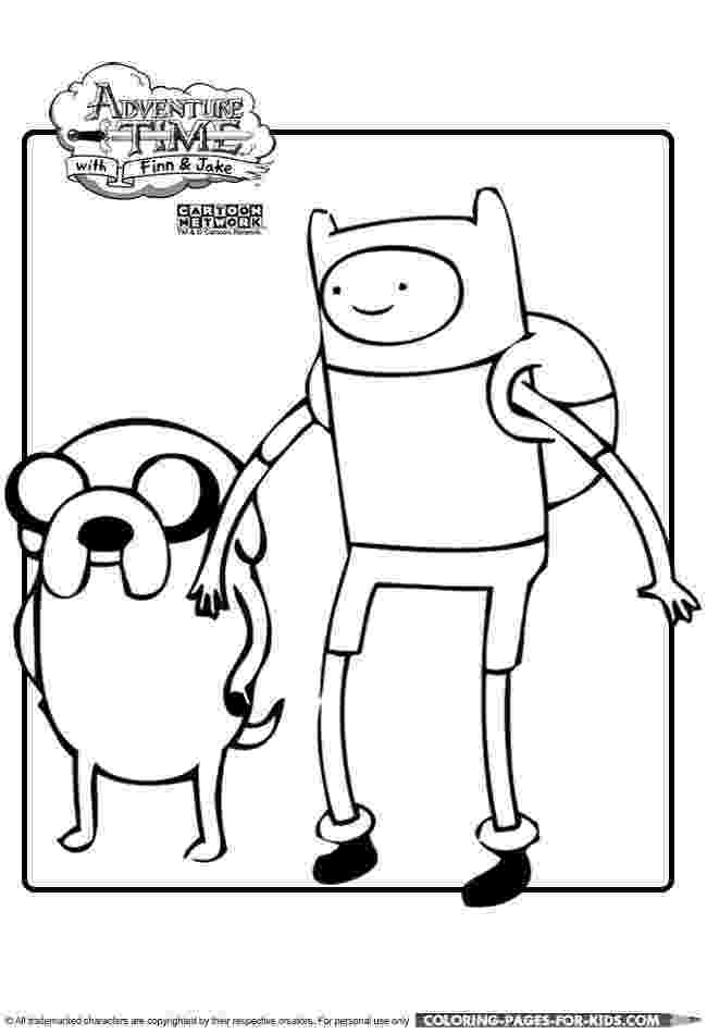 finn and jake coloring pages finn and jake adventure time printable coloring page for coloring finn pages jake and