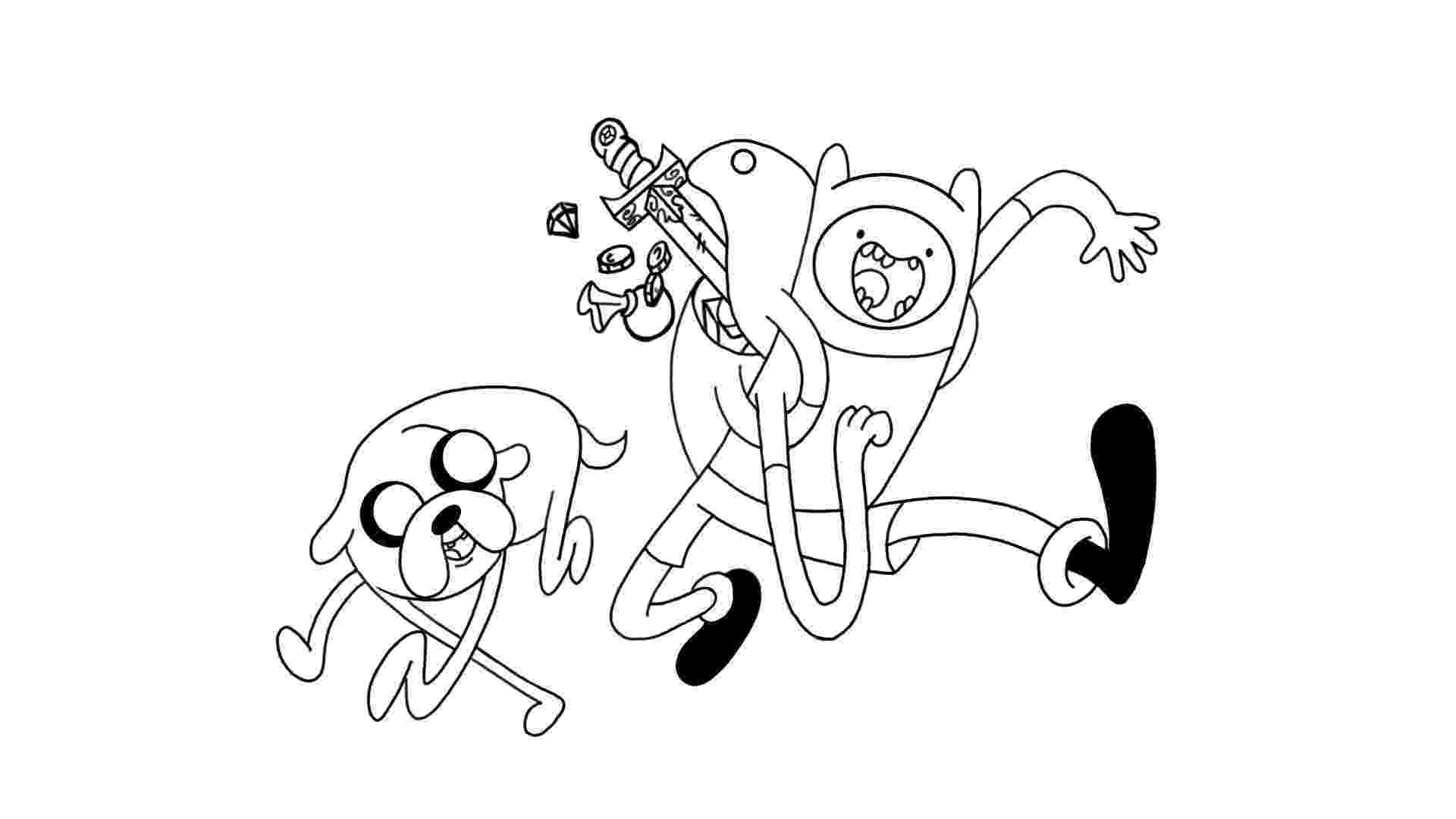 finn and jake coloring pages finn and jake coloring pages getcoloringpagescom and coloring jake pages finn