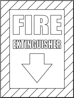 fire extinguisher coloring page printable fire truck coloring pages at getcoloringscom extinguisher coloring page fire