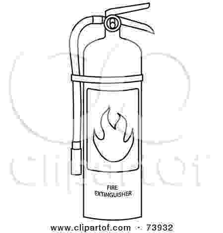 fire extinguisher coloring page royalty free rf clipart illustration of a black and extinguisher fire page coloring