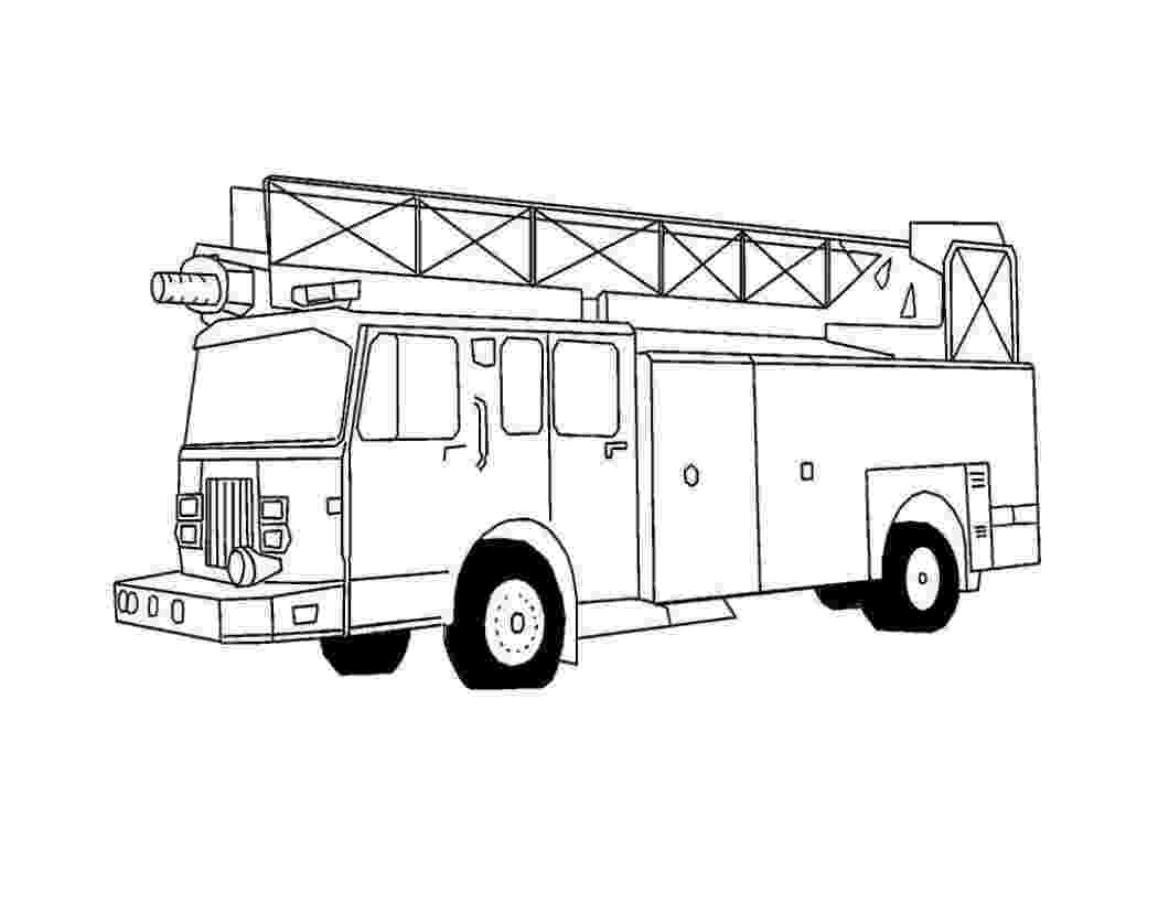 fire truck coloring pages to print 16 fire truck coloring pages print color craft pages coloring to print fire truck