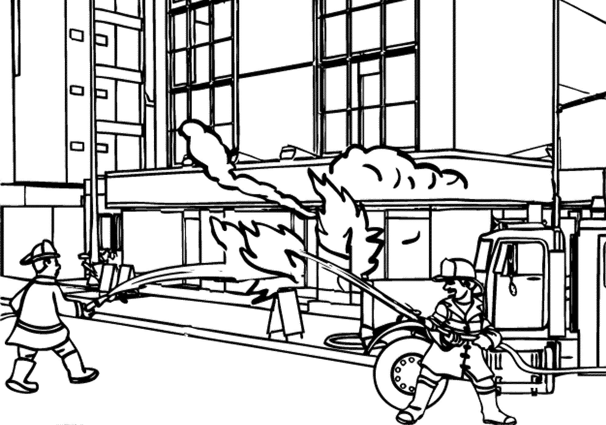 fire truck coloring pages to print fire truck coloring pages getcoloringpagescom to pages coloring truck print fire