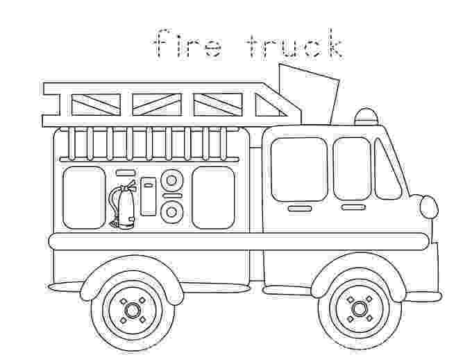 fire truck coloring pages to print fire truck coloring pages to download and print for free to coloring truck print pages fire