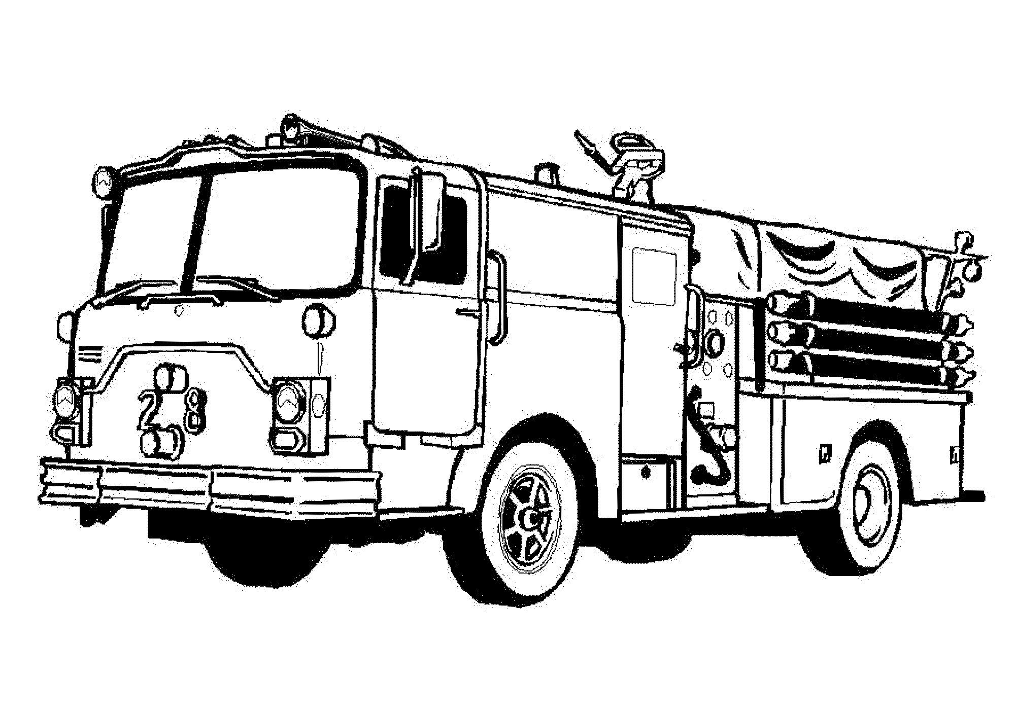 fire truck coloring pages to print fire truck coloring pages to download and print for free to truck fire pages print coloring