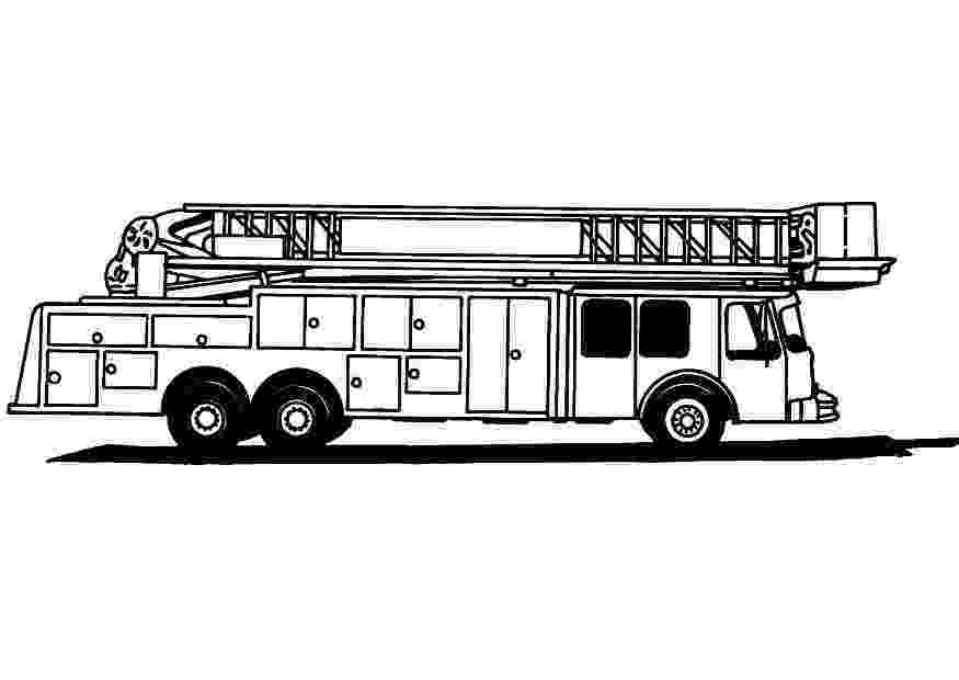 fire truck coloring pages to print fire truck with ladder coloring page free printable pages fire print truck coloring to