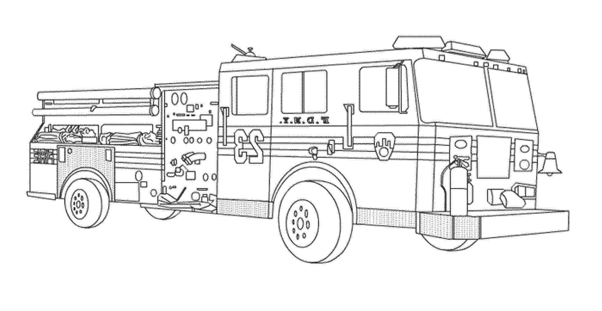 fire truck pictures coloring pages fire truck coloring pages getcoloringpagescom truck pages fire coloring pictures