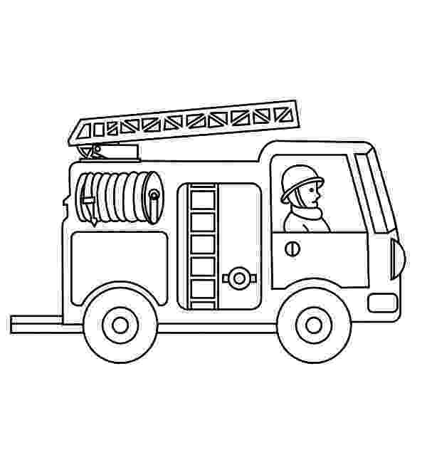 fire truck pictures coloring pages fire truck online coloring page enchantedlearningcom pages fire truck pictures coloring