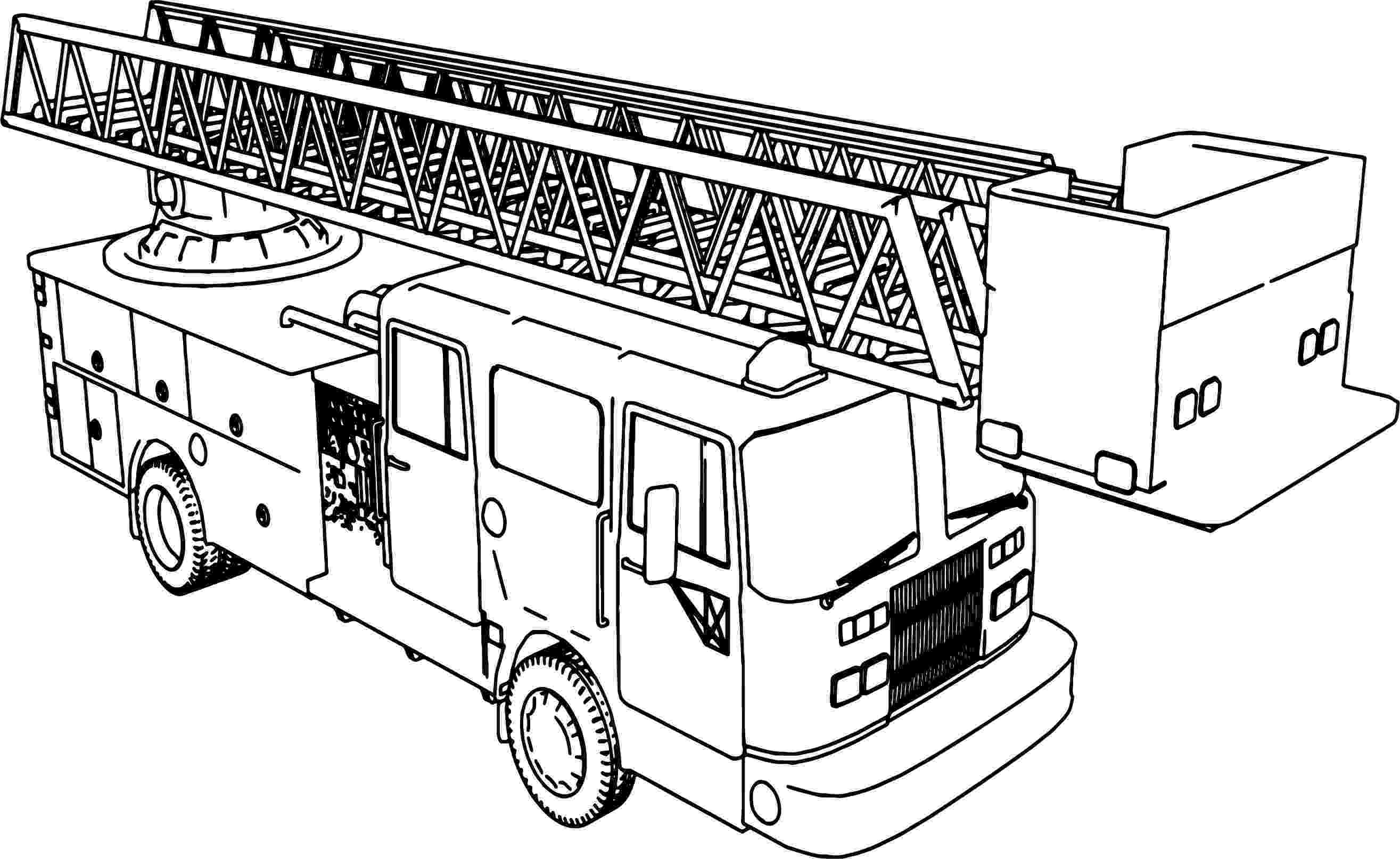 fire truck pictures coloring pages paw patrol marshall with fire truck coloring page free fire pictures pages coloring truck