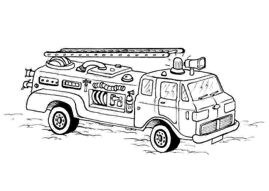 fire truck pictures coloring pages red the fire truck coloring pages hellokidscom fire coloring pictures truck pages