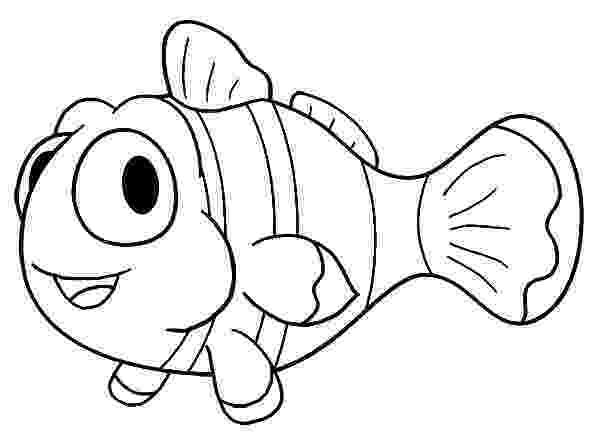 fish cartoon coloring pages black and white fish drawing at getdrawings free download pages cartoon fish coloring