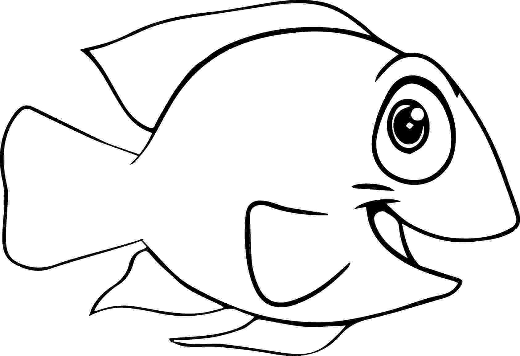 fish cartoon coloring pages under the sea coloring page coloring book cartoon coloring fish pages
