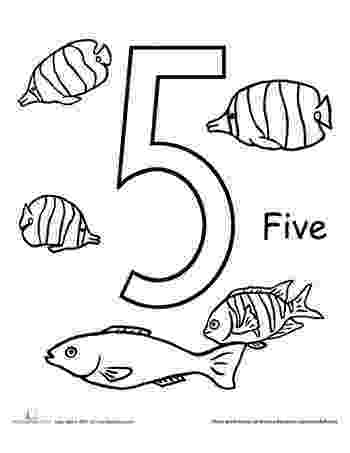 fish coloring worksheet count and color five fish worksheets number worksheets worksheet fish coloring