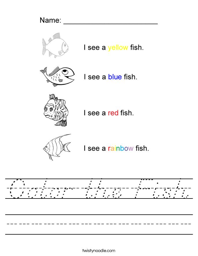 fish coloring worksheet fish bowl coloring page educationcom fish worksheet coloring