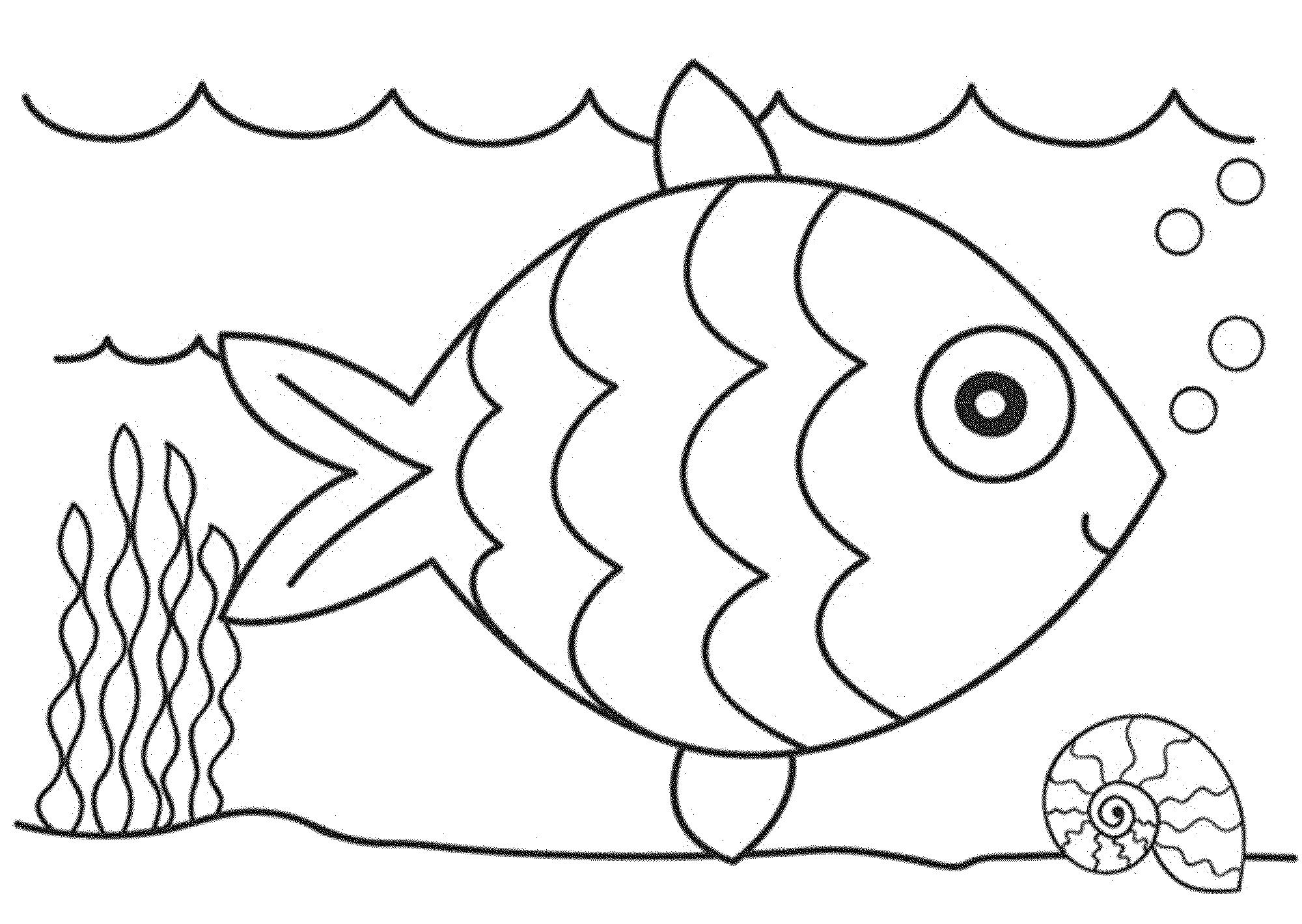 fish coloring worksheet fish coloring pages for kids preschool and kindergarten coloring fish worksheet