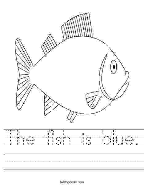 fish coloring worksheet fish worksheet twisty noodle worksheet fish coloring