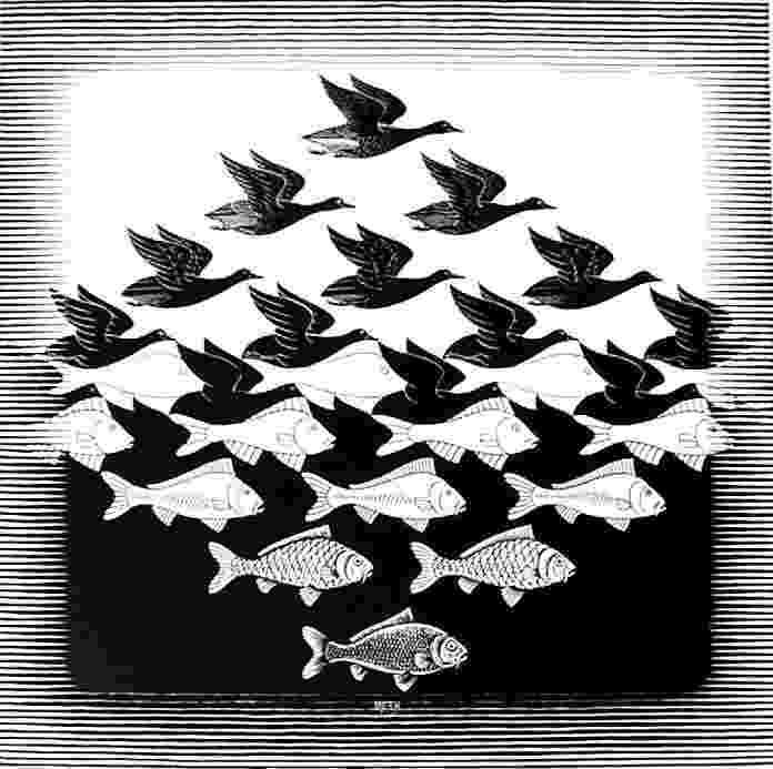 fish tessellation 1000 images about art tessellations on pinterest mc fish tessellation