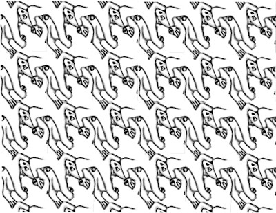 fish tessellation libangbang flying fish tessellations by recognizable tessellation fish