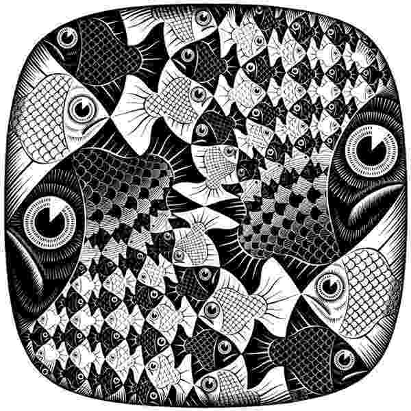 fish tessellation tessellation clipart etc fish tessellation