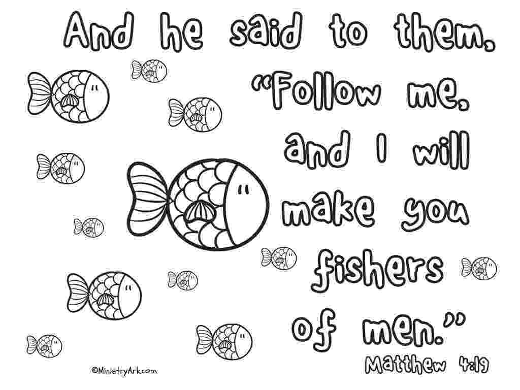 fishers of men coloring page bible story coloring page for jesus chooses his disciples coloring fishers men page of