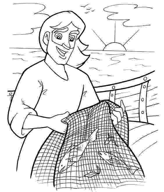 fishers of men coloring page fishers of men coloring pages and fisher on pinterest page of coloring fishers men