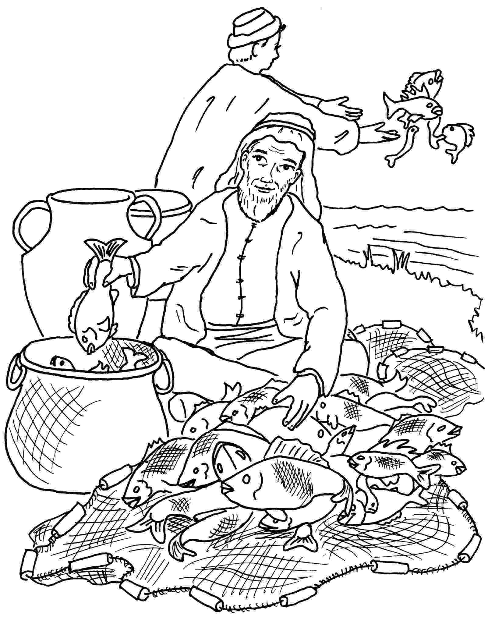 fishers of men coloring page fishers of men coloring pages coloring of men page fishers
