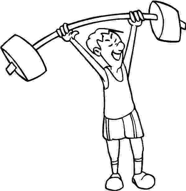 fitness coloring pages for kids exercise coloring pages at getdrawingscom free for coloring kids fitness for pages