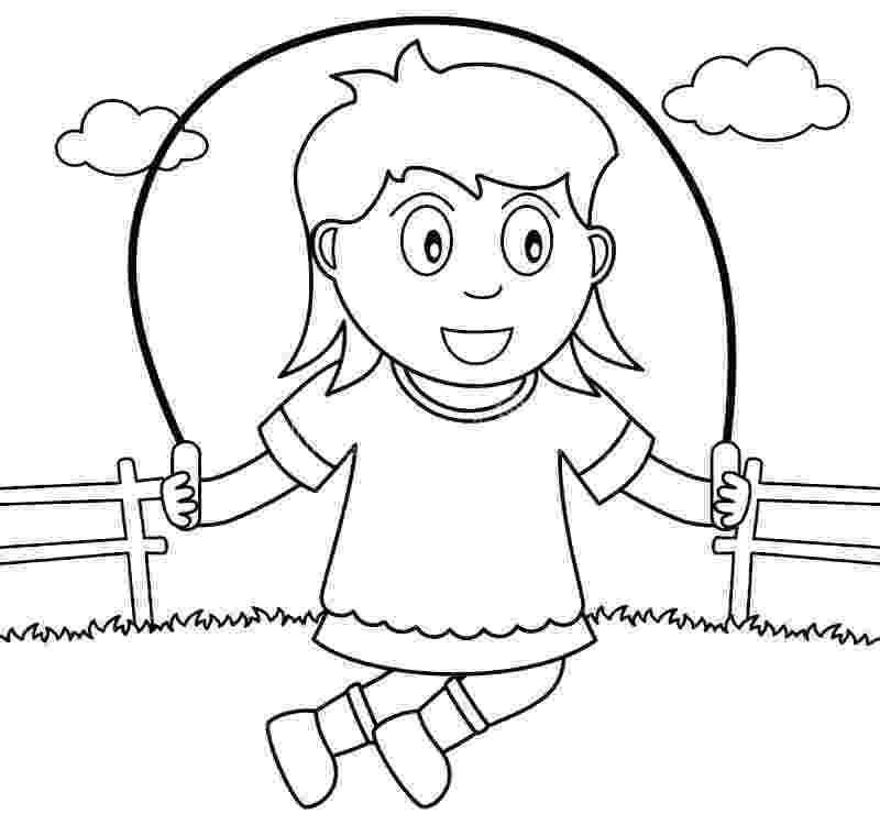 fitness coloring pages for kids girl exercise hoola hoop coloring pages kids play color for coloring kids pages fitness