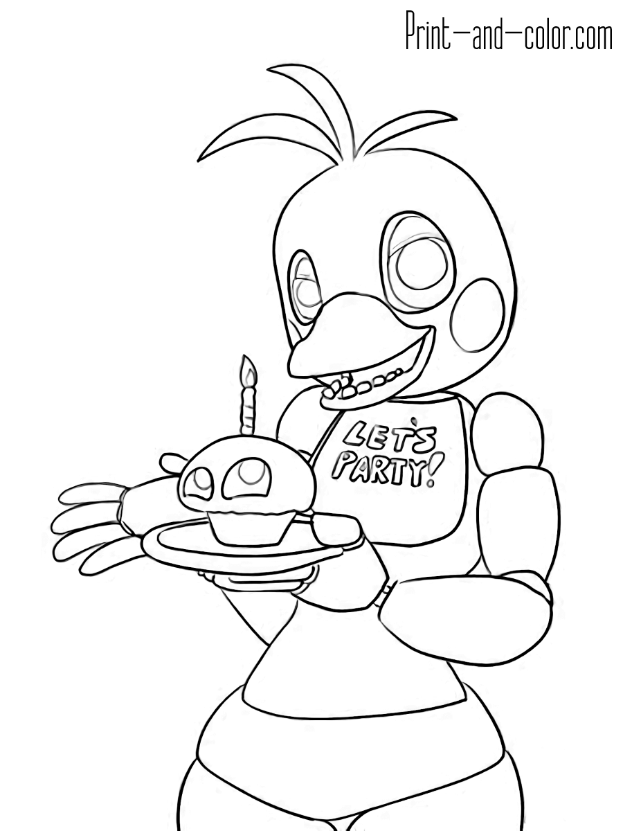 five nights at freddys pictures to print animatronics coloring pages to download and print for free pictures nights freddys at print five to