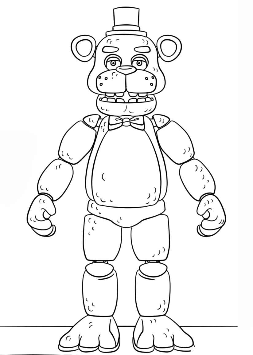 five nights at freddys pictures to print five nights at freddy39s coloring pages print and colorcom pictures freddys print to five nights at