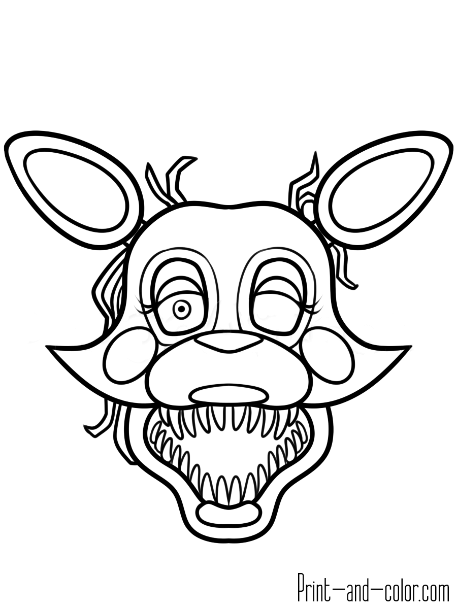 five nights at freddys pictures to print five nights at freddy39s coloring pages print and colorcom print freddys pictures to nights five at