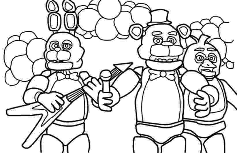 five nights at freddys pictures to print five nights at freddy39s coloring pages print and colorcom print freddys to at five pictures nights