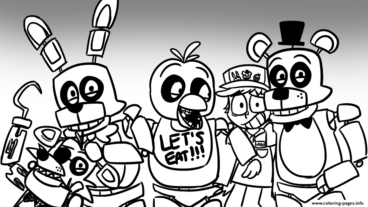 five nights at freddys pictures to print free printable five nights at freddy39s fnaf coloring pages at to five nights pictures freddys print