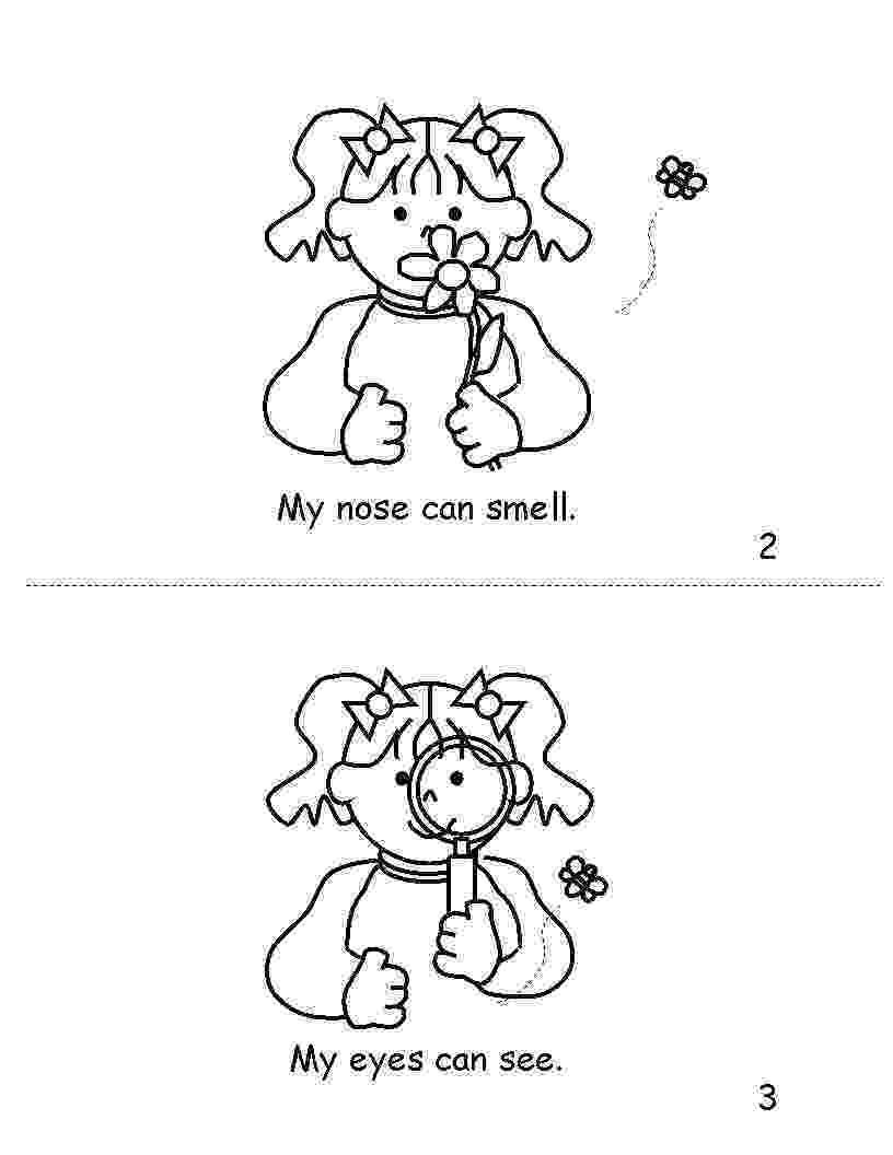 five senses coloring pages live laugh i love kindergarten 5 senses card match pages senses coloring five