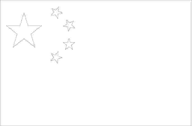 flag of china to color chinese flag coloring page for ping new years crafts to flag china of color