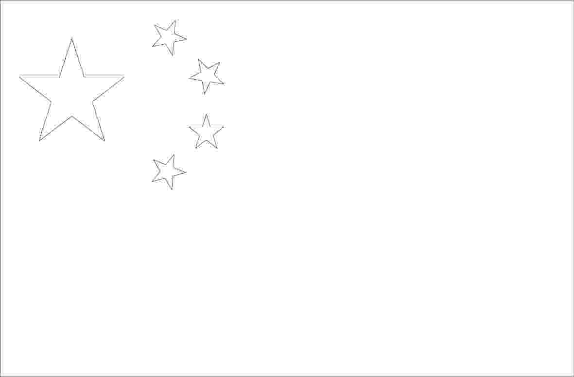 flag of china to color world flags coloring pages 2 to of china flag color