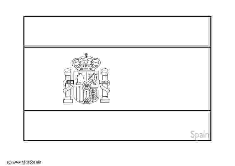 flag of spain coloring page spain flag coloring page coloring home page of coloring spain flag