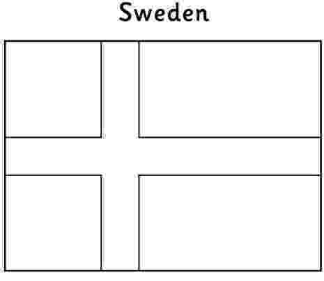 flag of sweden to color flag sverige finland og danmark coloring pages to color flag sweden of