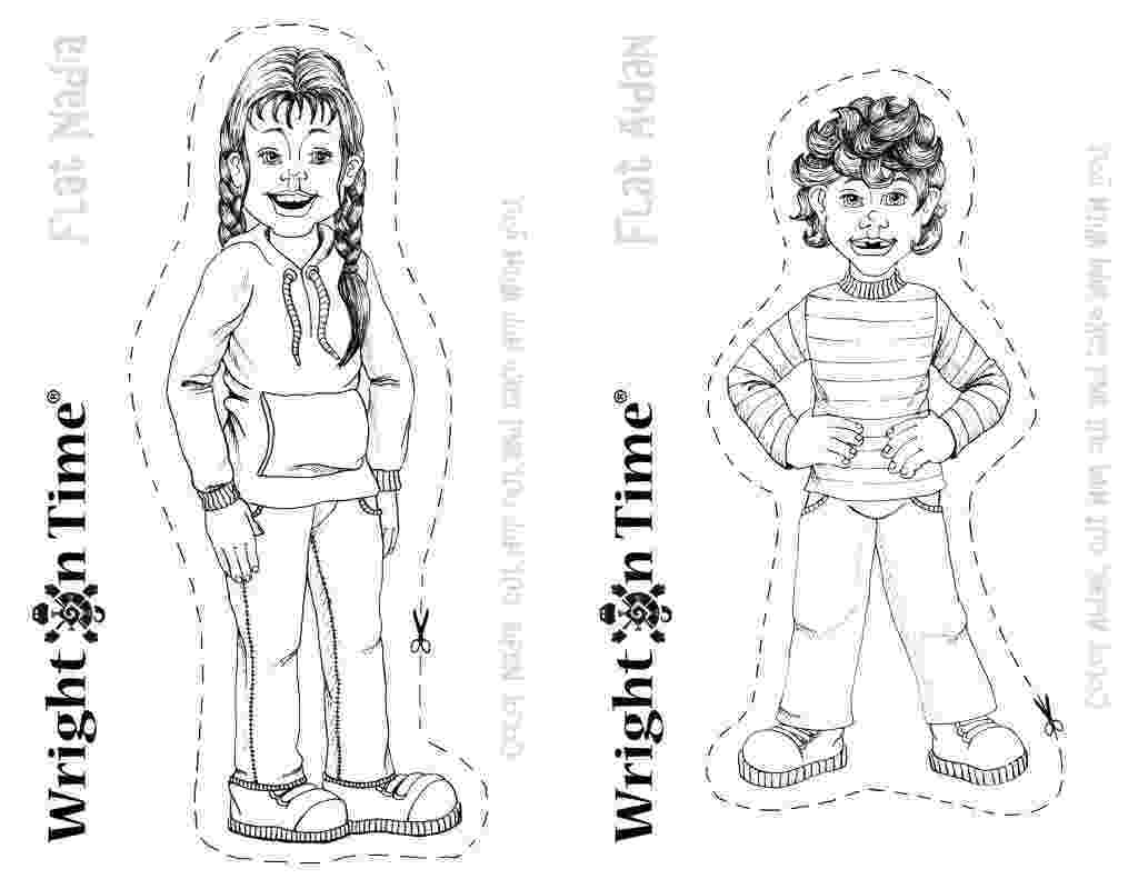 flat stanley coloring page flat stanley coloring page printable coloring pages flat stanley coloring page