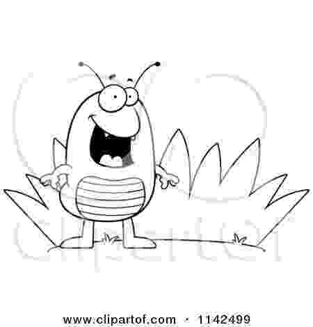 flea coloring page cartoon clipart of a black and white flea by grass page coloring flea