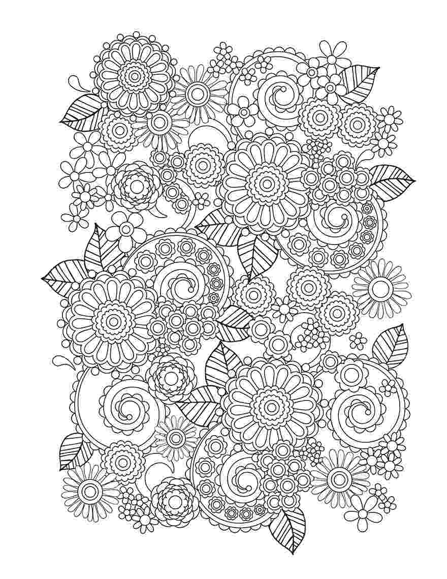 floral designs artists coloring book floral coloring pages for adults best coloring pages for book coloring artists designs floral