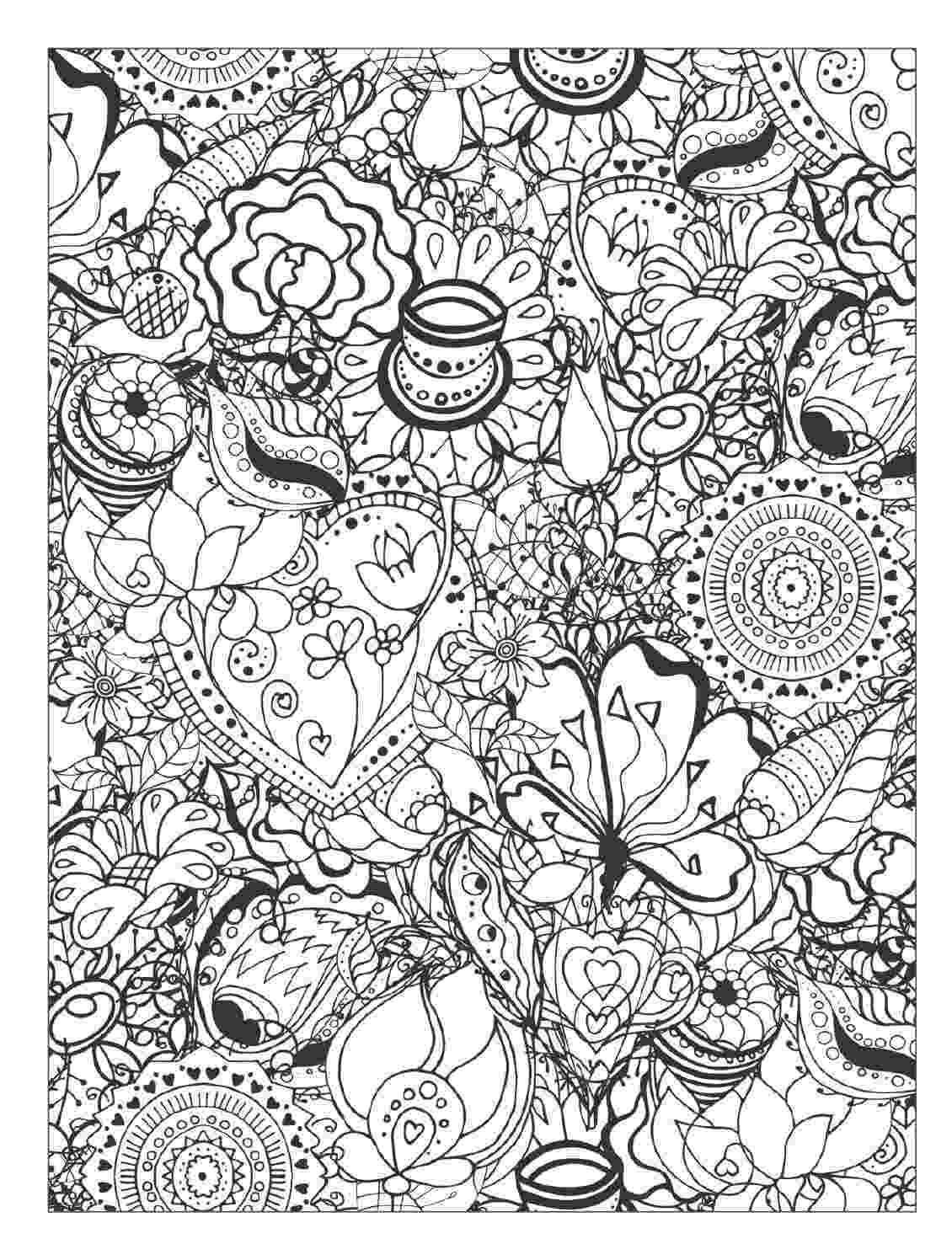 floral designs coloring book beautiful flowers detailed floral designs coloring book coloring floral designs book 1 2