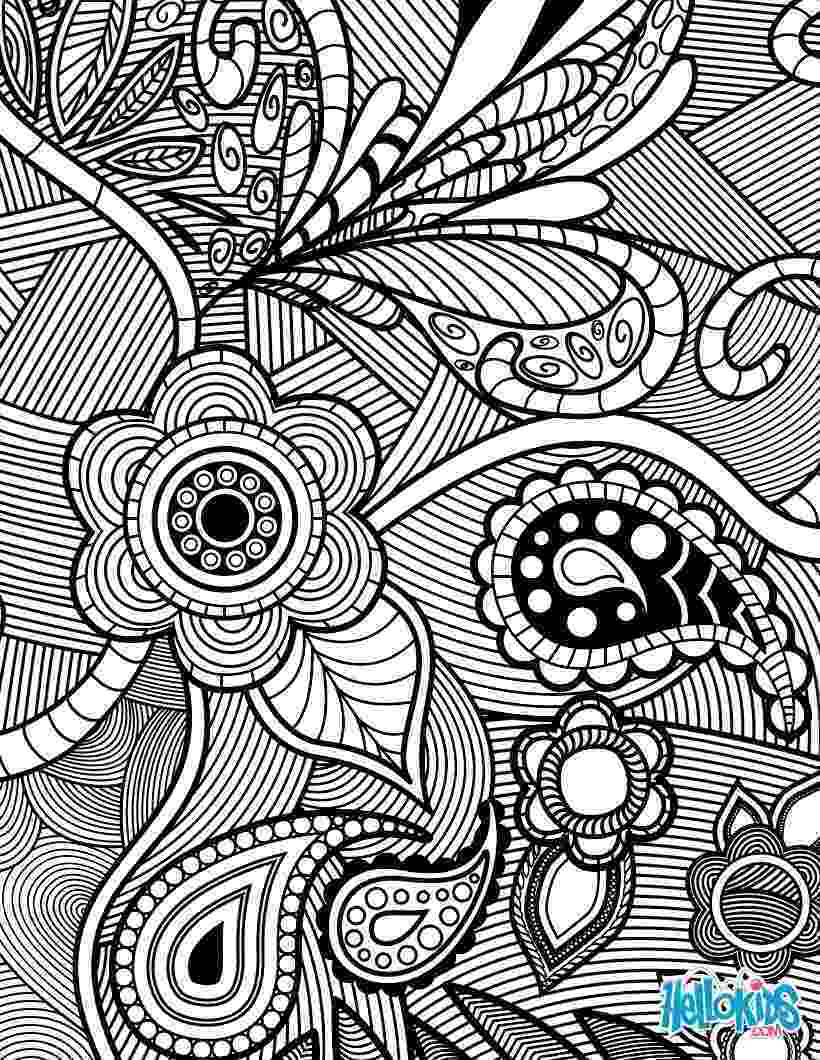 floral designs coloring book detailed flower coloring pages to download and print for free designs book floral coloring