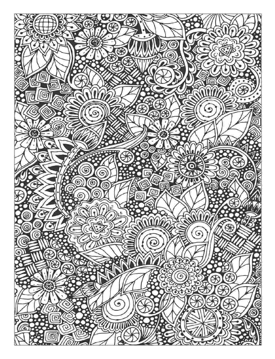 floral designs coloring book floral coloring pages for adults best coloring pages for designs book floral coloring