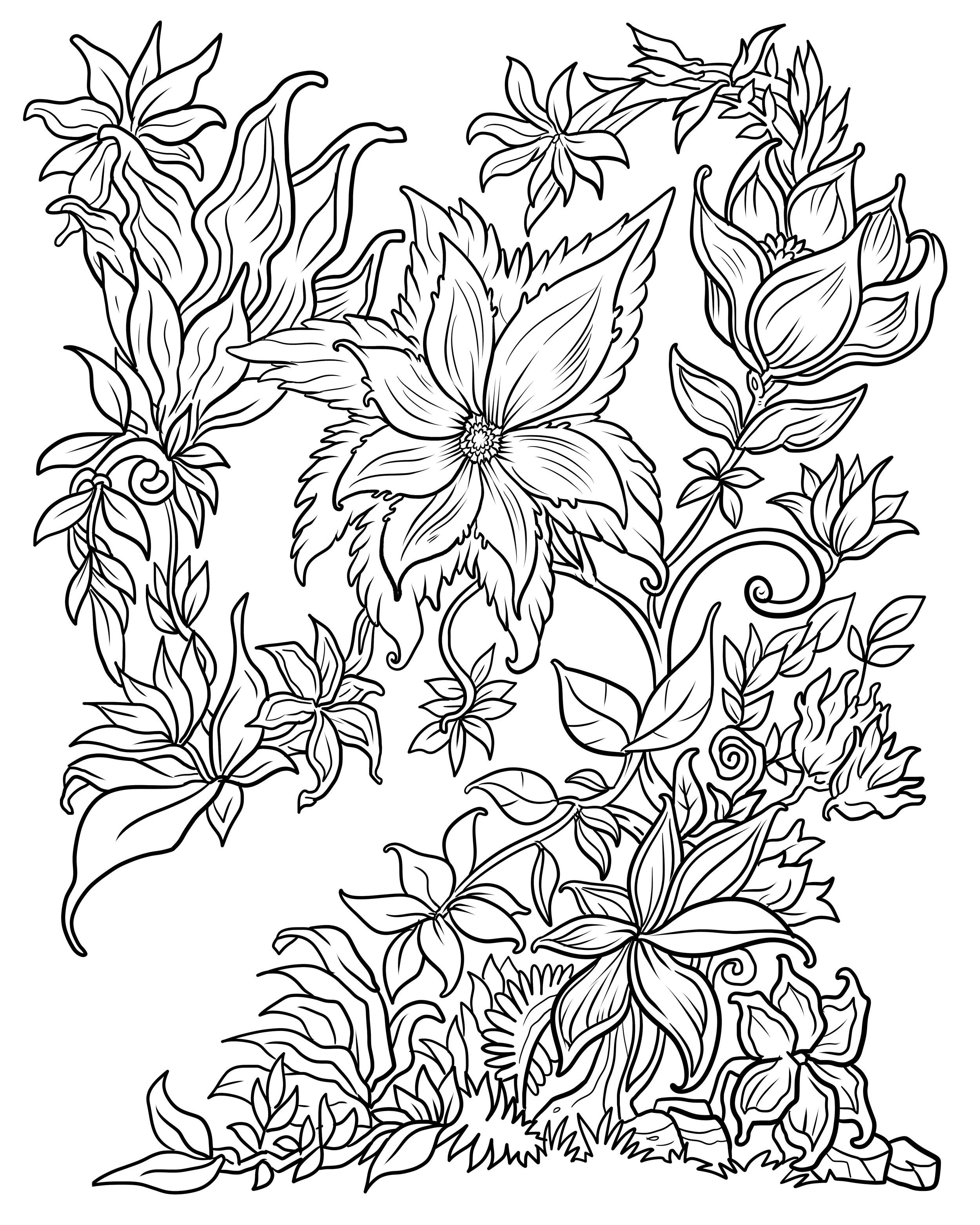 floral designs coloring book floral pattern coloring page free printable coloring pages floral coloring designs book